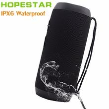 HOPESTAR P7 EStgoSZ Bluetooth Speaker Wireless WaterProof IPX6 Column Box Bass Mini Subwoofer Portable With TF Card USB FM Mic