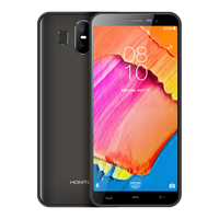 HOMTOM S17 5.518:9 Full Display MT6580 Quad Core Mobile Phones Android 8.1 2GB+16GB Smartphone Face ID 13MP Dual Cameras