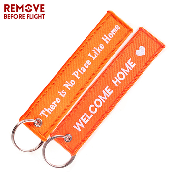 60 PCS Fashion Danger Key Chain Keychain for Motorcycles and Cars Key Tag Embroidery DANGER Key Fob OEM Keychain фото