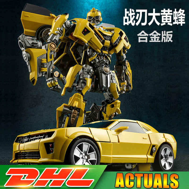 DHL Wei Jiang Weijiang Transformation MPM03 M03 Battle Blades Battle Hornet KO Masterpiece Metal Alloy Part Figure Toys