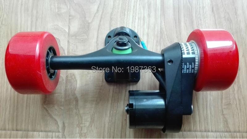 Kit de Conversion de planche à roulettes Longboard électrique camion arrière avec entraînement par courroie moteur unique