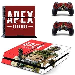 Image 5 - Jeu Apex légendes PS4 autocollant de peau autocollant vinyle pour Sony Playstation 4 Console et contrôleur PS4 autocollant de peau