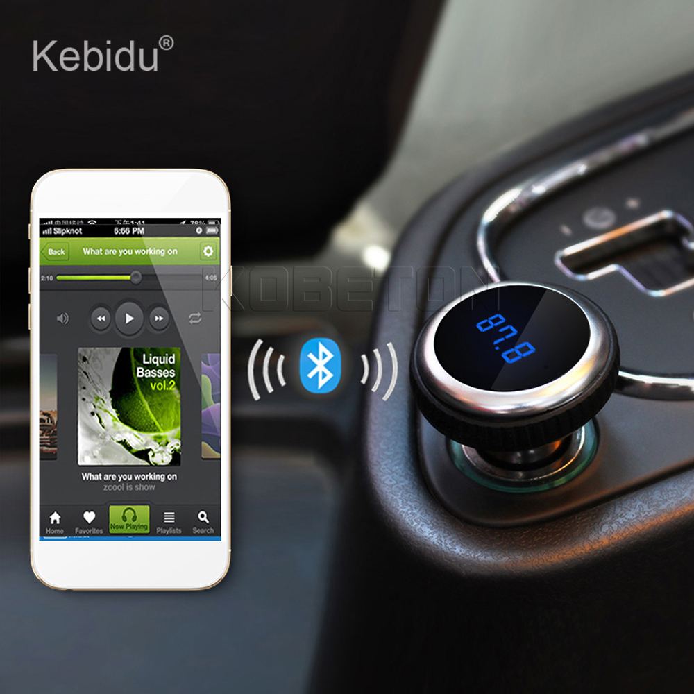 kebidu auto car mp3 music player wireless bluetooth fm. Black Bedroom Furniture Sets. Home Design Ideas
