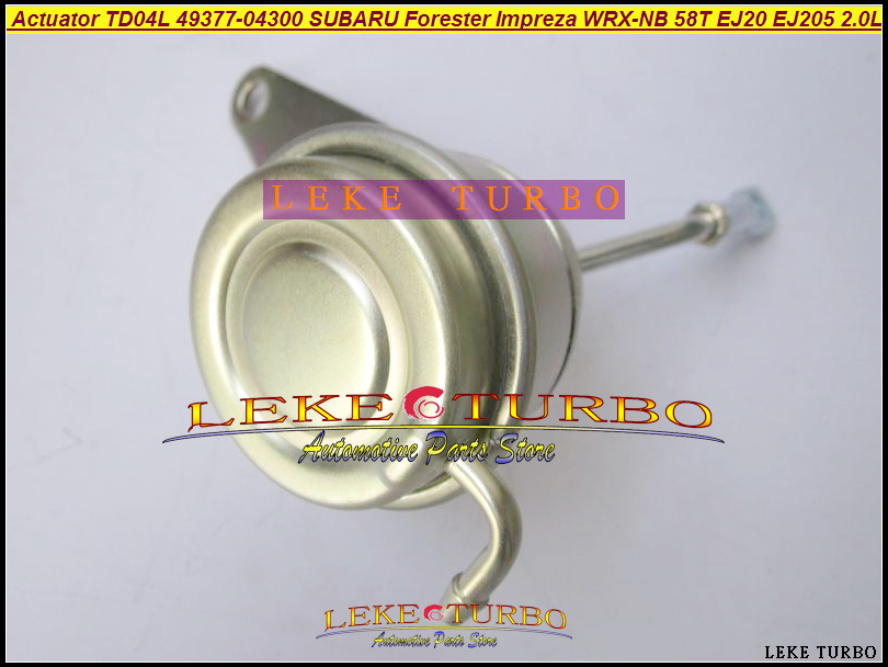 Turbo Wastegate Actuator TD04L 49377-04300 14412-AA360 14412-AA451 For SUBARU Forester Impreza WRX-NB 98-03 58T EJ20 EJ205 2.0L turbo for komats pc130 8 earth moving excavator saa4d95le 4d95le td04l 49377 01610 49377 01611 6208818100 turbocharger gaskets