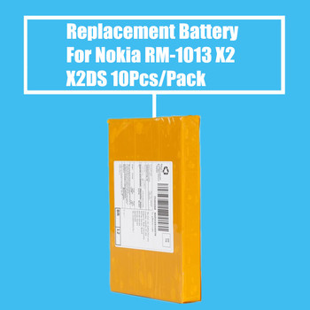 10Pcs/Pack Replacement Battery 1800mah for NOKIA X2/X2DS/RM-1013 High Quality