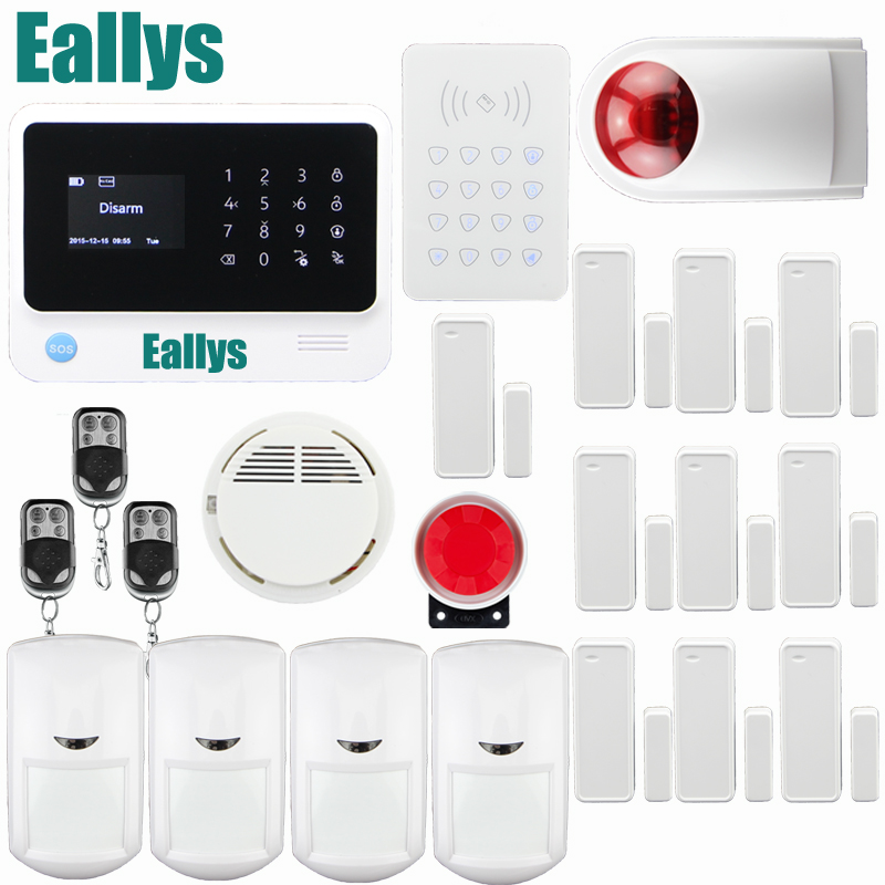 touch keypad Smart home alarm with App IOS&Android G90B Wifi GSM alarm system with,GPRS,surveillance IP camera alarm system 2 4g wifi gsm alarm system compatible gprs ios android app control touch keyboard support 5 language switch camera alarm