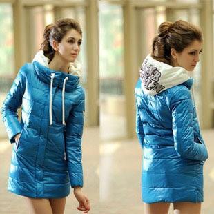 куртка хлопок - мягкий длинная, зима дизайн приталенный пуховик и парки с В капот женщины зима верхняя одежда