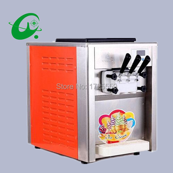 Commercial Soft Ice Cream Machine, 18L/H BQL 818T Of Ice Cream Maker For Sale