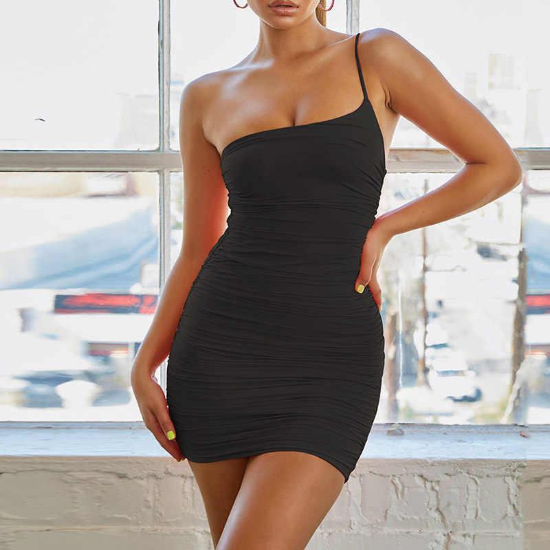 ForeFair с открытыми плечами с открытой спиной пикантные Клубные облегающее платье женские летние мини-ремень неоновое платье