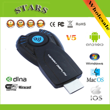 Cast ez vsmart v5ii ezcast miracast wireless display dongle hdmi 1080 p tv stick dlna airplay per windows IOS android