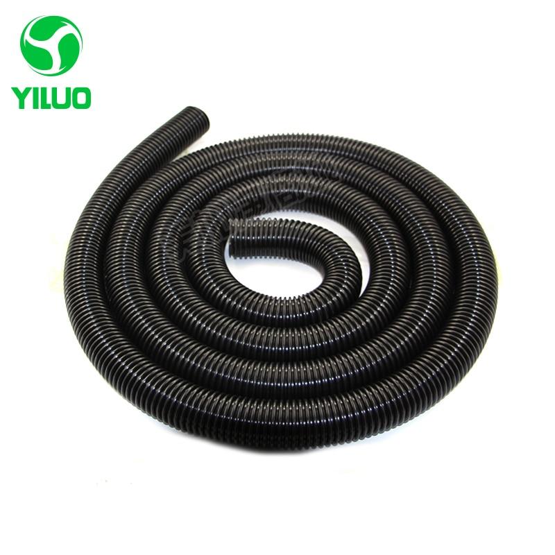5m inner Diameter 38mm Black EVA vacuum cleaner flexible hose pipe for industry vacuum cleaner