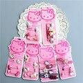 Moda Infantil Headwear Elegante Olá Kitty Faixas de Cabelo Goma Goma Scrunchies Elásticos Acessórios para o Cabelo Para O Bebê Bonito