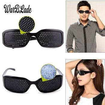 WarBLade Child Anti-myopia Glasses Women Vision Care Pin hole Sunglasses Eyesight Improve Natural Healing Anti-fatigue