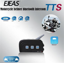 EJEAS TTS Dual Bluetooth Intercom Motorcycle Interphone Headset 300HRS Standby Fast Pairing For Ktm Helmet Bluetooth стоимость