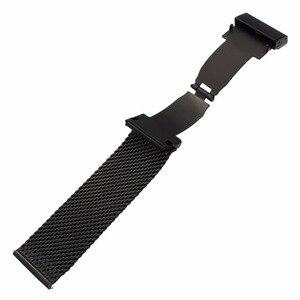 Image 5 - Milaneseผีเสื้อสายคล้องคอสำหรับดีเซลFossil Timex Armani DW CKนาฬิกาเข็มขัดสแตนเลส18มม.20มม.22มม.