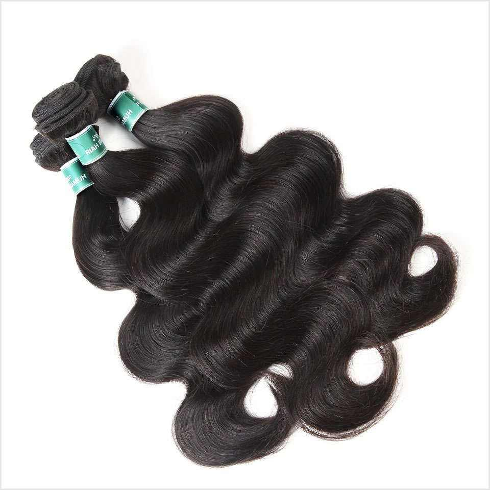 ALI GRACE Hair Cambodian Body Wave Hair 3Pcs Human Hair Bundle Deals Natural Color Remy Hair Extensions 10-28 inch