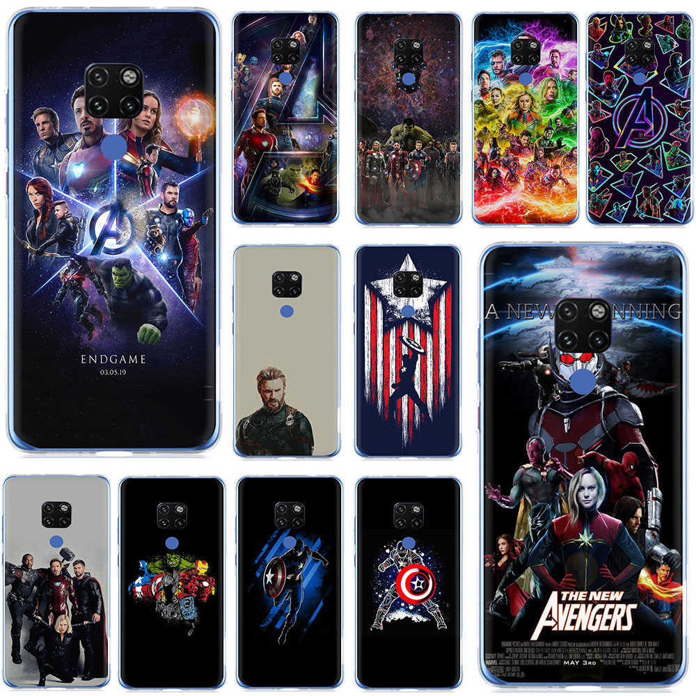 Novelty Phone Case For Huawei Nova Lite 3 Cover Novalite 3 Lite3 Avengers Silicone Case Coque For Huawei Nova Lite3 Pot-lx2 Bags Cellphones & Telecommunications