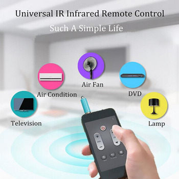 Mini Mobile Phone Smart Infrared IR Transmitter Remote 3.5mm Jack Plug Control For Air Conditioner Smrt Home Emitter for HUAWEI image
