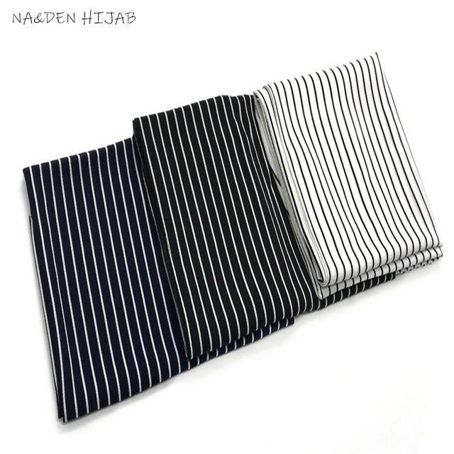 NEW chiffon striped print hijab scarf sea star pattern fashion women muslim hijabs islamic scarves shawls brand soft muffler