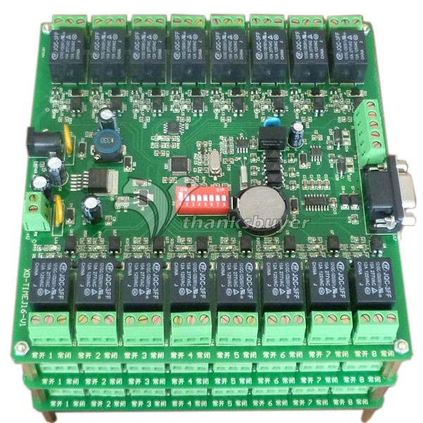 16 Channel Relay Module Board 232 485 Control w Isolation Protection