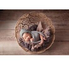 Детская накидка реквизит для фотосъемки новорожденных наполнитель