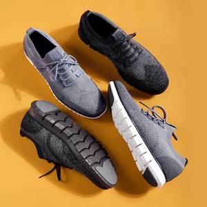 Image 3 - شاومي الأصلي Coollinght سلسلة أحذية رياضية رجال الأعمال أحذية لينة بروك حذاء كاجوال
