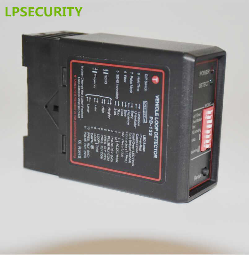 Detektor pętli detektora pojazdu do wykrywania urządzenia kontroli ruchu indukcyjnego kontrola sygnału PD132