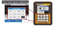 Mr9270s Портативный 4 20ma генератор сигналов калибровки текущее напряжение PT100 термопары Давление передатчик Logger pid frequenc