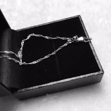 Fashion Silver Plated dull polish Surface Cats Pendants Necklaces White Gold For Women Fine Jewelry Collar Choker  x208
