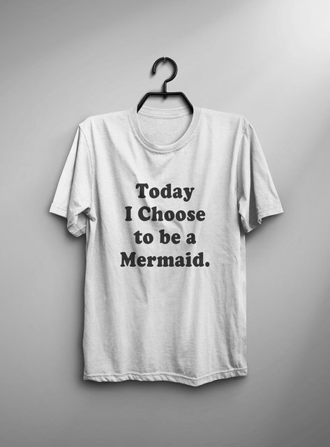 Mermaid T Shirt sayings Funny TShirt Tumblr Tee Shirt for Teens ...