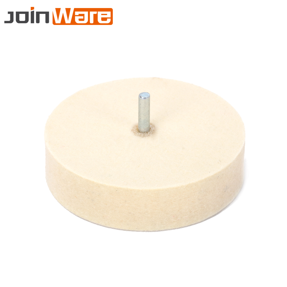 5Pcs 4'' 100mm Cylindrical Wool Felt Head Grinding Polishing Wheel For Rotary Tool Buffing Wheels 6mm Shank 5pcs 80mm cylindrical wool felt grinding head mounted polishing buffing wheel for rotary tool 6mm shank