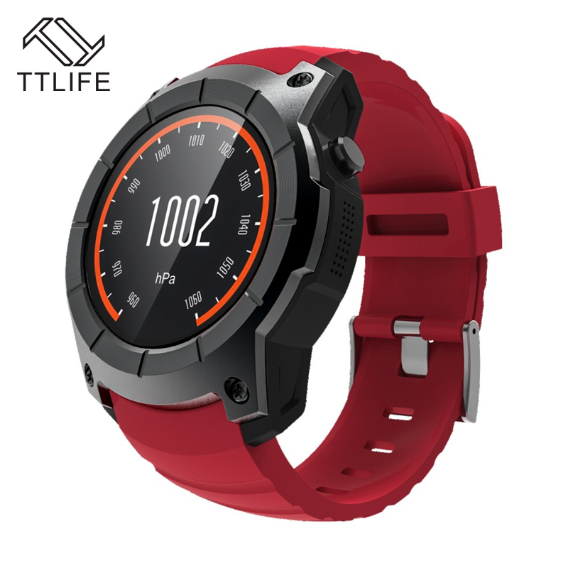 TTLIFE GPS Tracker S958 Smart Watch Waterproof Pedometer Music Controller Heart Rate Monitor Watch Unisex Child For IOS Android gps tracker watch heart rate smart bracelet watch heart rate monitor personal android and ios tracker multi mode locating