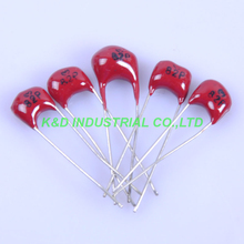 10pcs Silver MICA Capacitor 82pF 500V Radial Amp For Audio