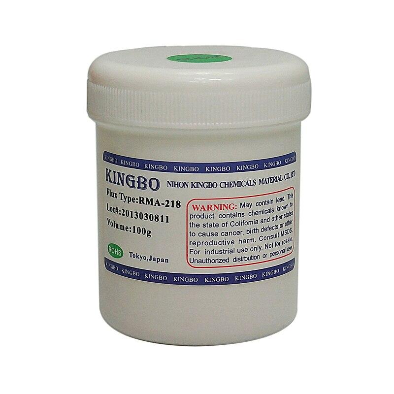 Original Kingbo RMA 218 bga Solder Flux Paste Solder 100g for BGA Rework Station use|paste|paste solder|paste flux - title=