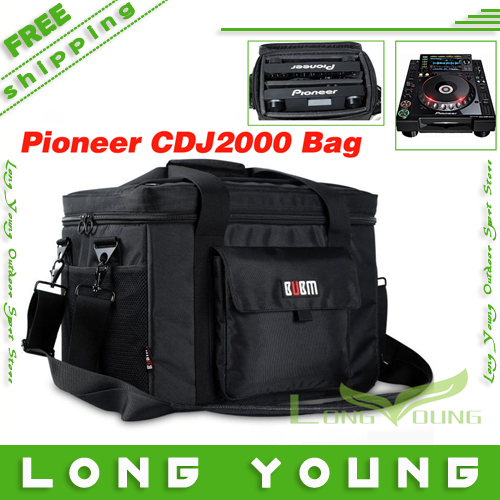 BUBM  Professional dj bag for Pioneer cdj2000 cdj900 cdk850 dj controller   dj cd Player Bags  audio case  side bag bubm shockproof carrying camera case for gopro hero professional protector bag travel packsack for pioneer pro ddj sz dj
