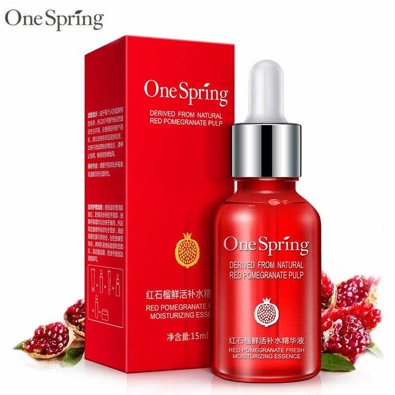 Spring Skin Care: One Spring Red Pomegranate Nourishing Moisturzing Essence