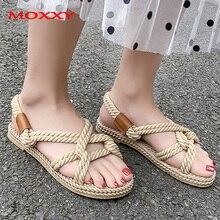 Gladiator Rope Sandals Women's Summer Shoes 2019 New Beach Shoes Women Sandals Comfort Platform Sandals Slides  chaussures femme антон антонов овсеенко сталин без маски