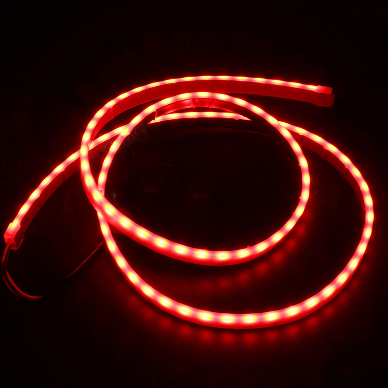 1Set 120CM Car Rear Tail Box Dynamic Streamer Turn Signal Warning Light LED Strip new high quality