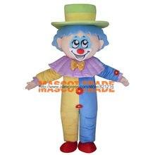 58dccfbe9b776f Volwassen Halloween Clown Mascotte Kostuum Cartoon Kostuums Reclame  Mascotte Dieren Kostuum