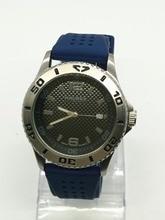 Top marca os homens assistir negócio de aço Inoxidável vidro de Safira movimento Suíço de quartzo movimento homens relógio de silicone sports watch