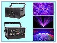 Sailwin Heißer High Speed Scanner 3W RGB Farben Animation Laserlicht Mit ILDA Moudle Disco Laser Fett Strahl 3D Quickshow-in Professionelle Beleuchtung aus Licht & Beleuchtung bei