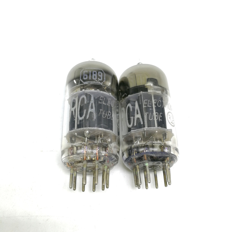 The new US RCA 6189 electronic tube generation 5814A ECC82 12AU7 5963 triple mica square ring
