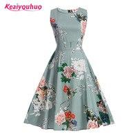 2017 Kids Girl Floral Print Dress Summer Girls Dress Teenage Girl Party Dress Princess Dresses Children