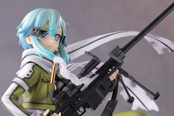 NEW hot 22cm Sword Art Online Asada Shino sao action figure toys collection doll toy with box