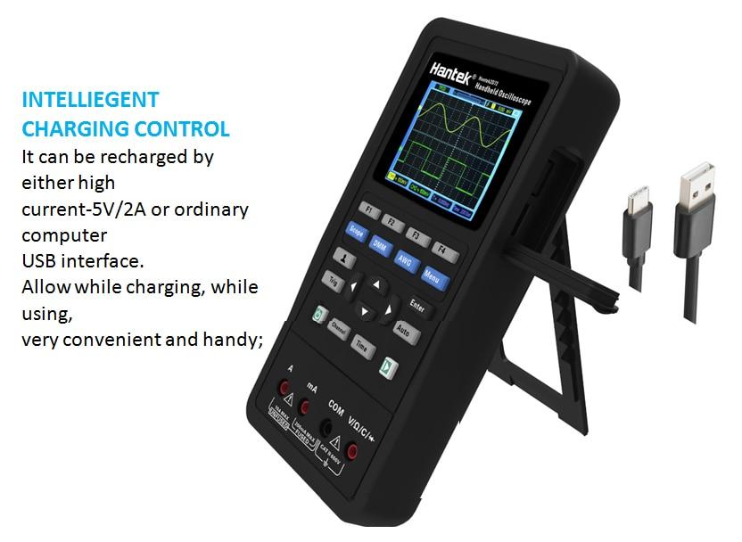 Hantek Digital Oscilloscope/Digital Multimeter/Waveform Generator