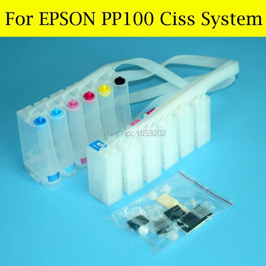 1 conjunto boa ciss com chip decodificador para epson pp 100n pp 100 pp100 pp50 pp100ii