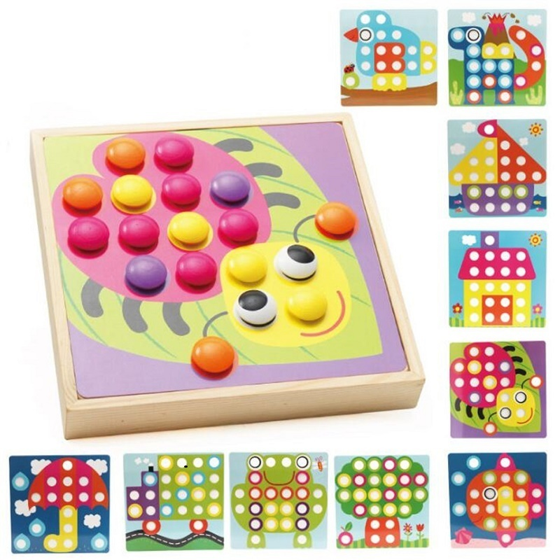 SUKIToy Wooden Puzzle 10-IN-A-BOX