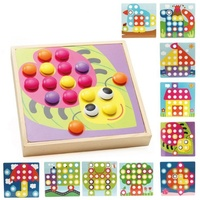 SUKIToy Wooden Puzzle 10 IN A BOX