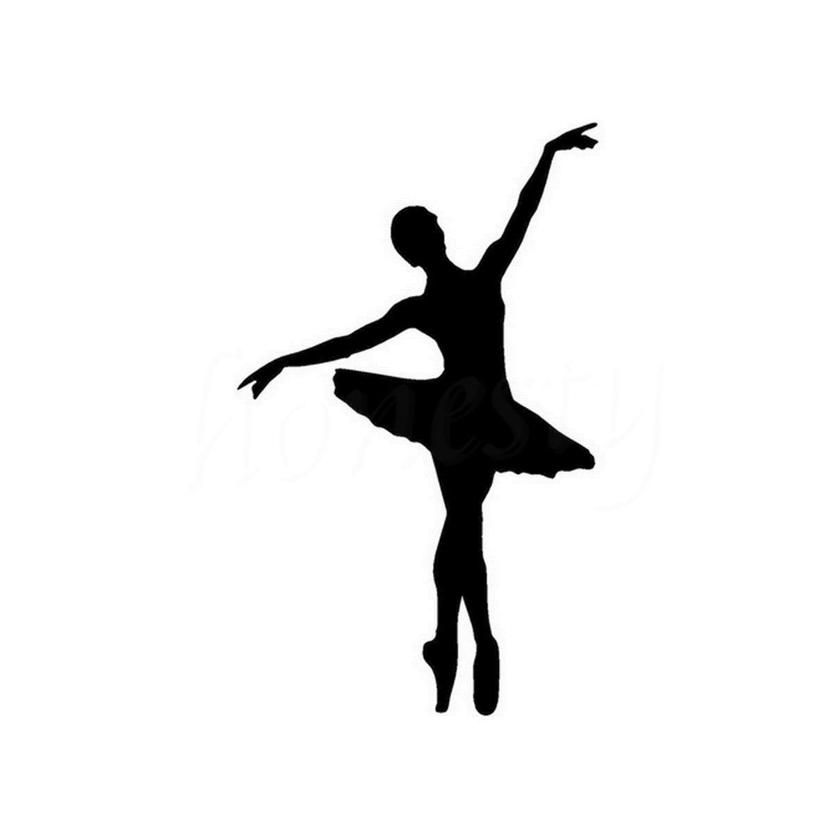 Ballet Dancer Parede In 237 Cio Porta Janela De Vidro Etiqueta