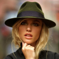 100% Wool Wide Brim Floppy Felt Trilby Bowknot Fedora Hat For Elegant Womem Ladies Winter Auturmn Cashmere Gangster Church Hat 5